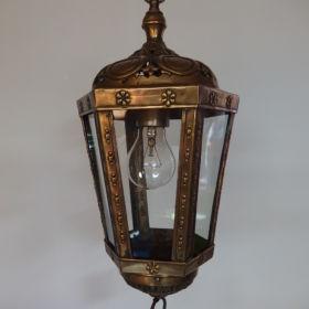 lantaarn-messing-gehamerd-antiek-1910