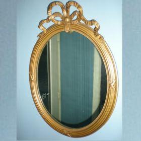 spiegel-goud-strik-antiek-19e-eeuw