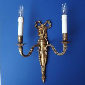 wandlamp-vuurverguld-antiek-19e eeuw