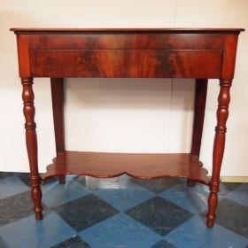 tafel-mahonie-antiek-19e eeuw