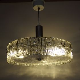 hanglamp-chroom-plakken-glas-vintage-1970