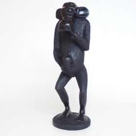 beeld-aap-ebbenhout-afrika-1950