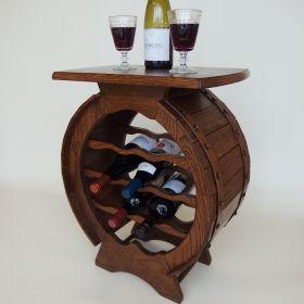 wijntafel-wijnvat-flessenrek-eikenhout