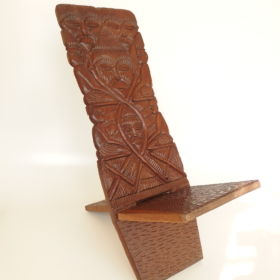 set-stoelen-hardhout-mahonie-afrika-jaren-50-60-vintage