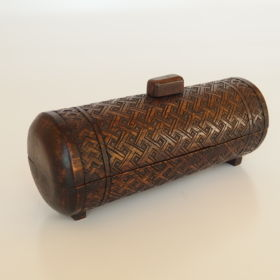 box-round-shape-geometric-design-pattern-Kuba-art-Africa-'50-mid-20th-century