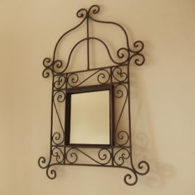 mirror-frame-wrought-iron