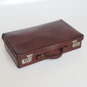 uitcase-leather-cognac-nickel-suitcase fittings-20s