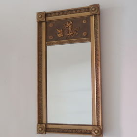 mirror-frame-wood-gold-leaf-50s-the-netherlands-napoleon-style