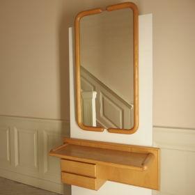wall-table-mirror-ashwood-Dutch-design-80s
