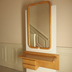 wall-table-mirror-ashwood-Dutch-design-80s