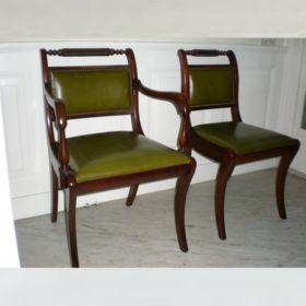 stoel-mahonie-antiek-19e-eeuw-den-haag
